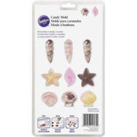 Wilton Candy mold Seashells
