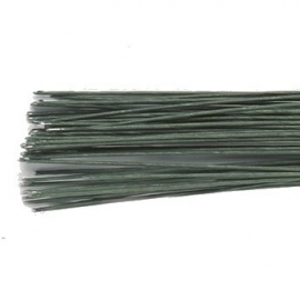 Culpitt Floral Wire Dark Green set/20 -22 gauge. Art.nr: 1385G