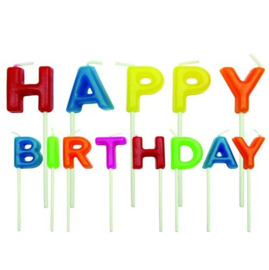 PME Happy Birthday Kaarsjes Set/13