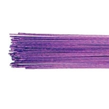 Culpitt Floral Wire Metallic Purple set/50 - 24 gauge