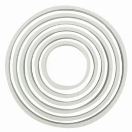 PME Plastic Cutter Circle Set/6. Art.nr: PNR5