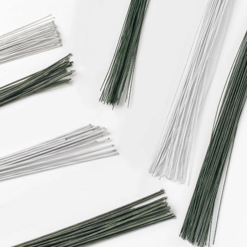 Culpitt Floral Wire White set/50 -26 gauge