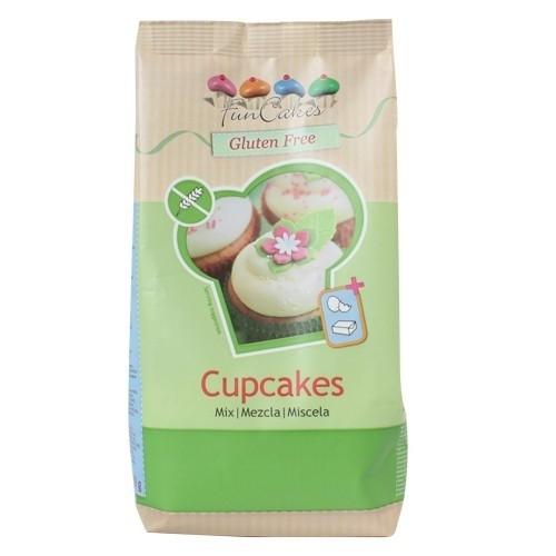 FunCakes Mix voor Glutenvrije Cupcakes 500g