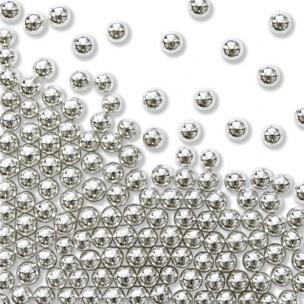 PME Sugar Pearls Silver 4mm 25g