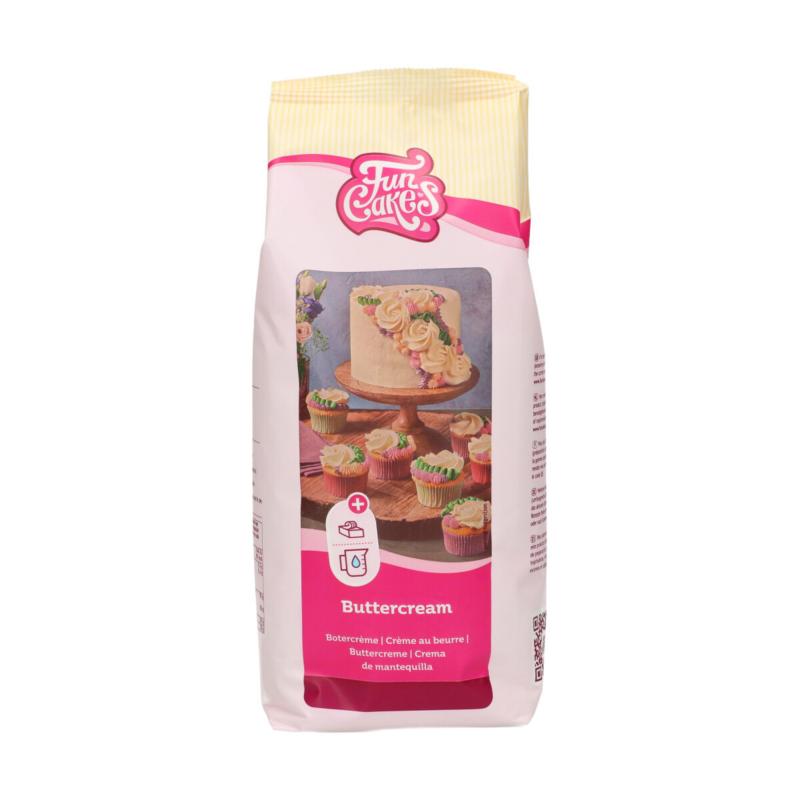 FunCakes Mix voor Botercréme 1 kg