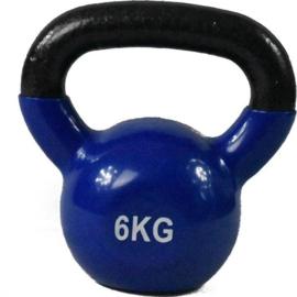 Kettlebell   6 kg - Rubber coating