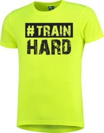 BTS | T-shirt - #TrainHard - dry fit