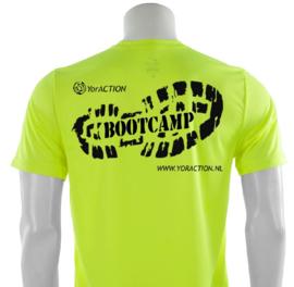 Dry-Fit   #TrainHard - Bootcamp t-shirt