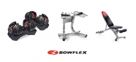Bowflex dumbells standaard