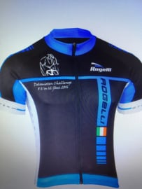 Rogelli   Umbria - wielershirt, korte mauwen - blauw