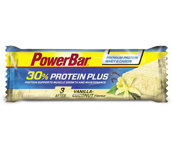Powerbar   Protein Plus bar vanilla/coconut - 15x