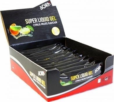 BORN | Super Liquid Gel - Citrus Fruits - Energy gel - 12 x 55 ml