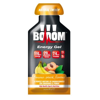 BOOOM! | Energy gel - Banaan perzik