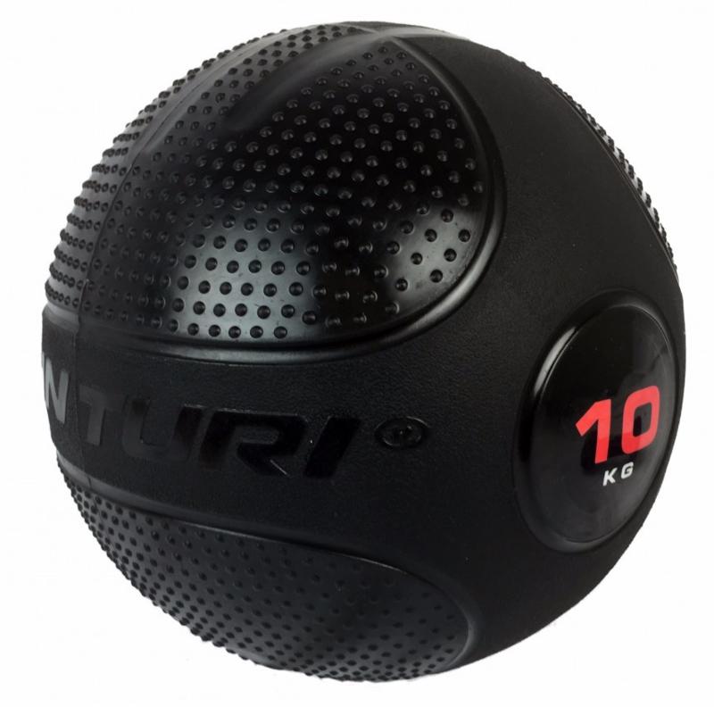 Tunturi | Slam ball 10 kg - zwart