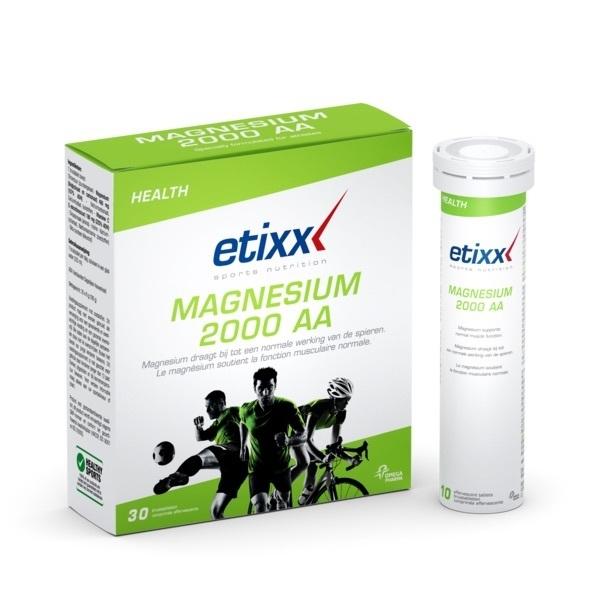 Etixx - Magnesium 2000 AA - bruistabletten