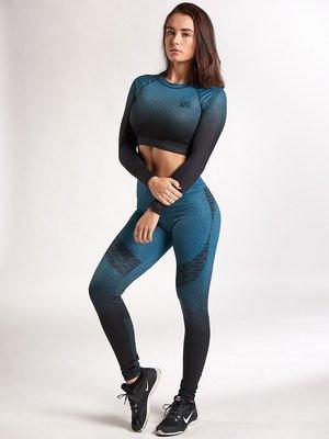 Legging en Croptop XXL sportswear groen