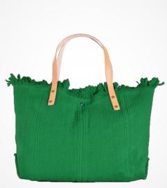 Strandtas groen