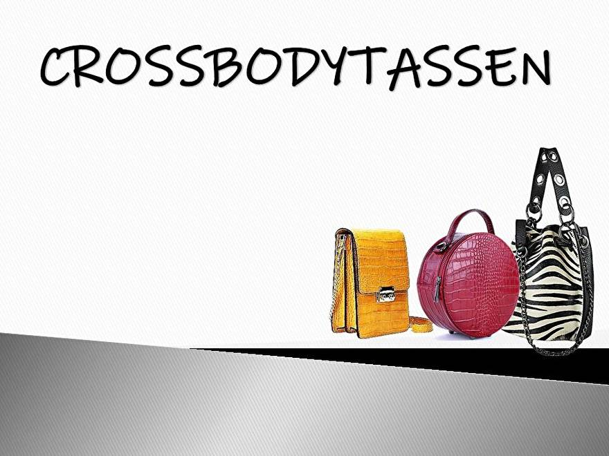 Crossbodytassen!