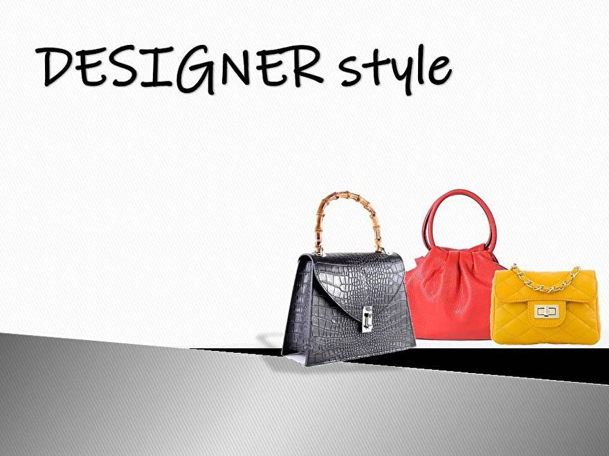 Designerstyle!