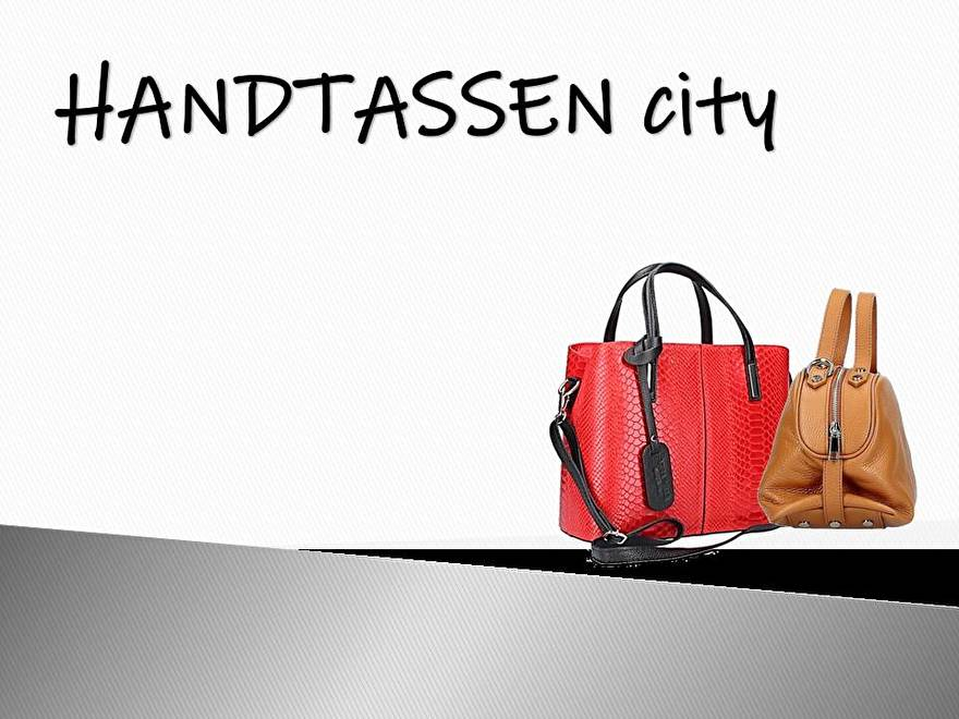 Handtassen city!