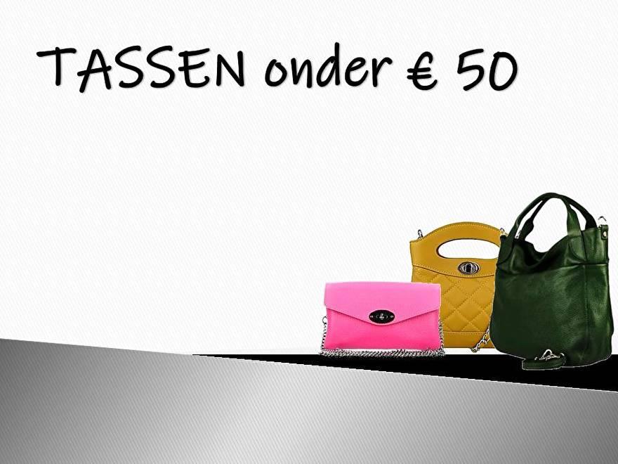 Tassen onder 50 euro!