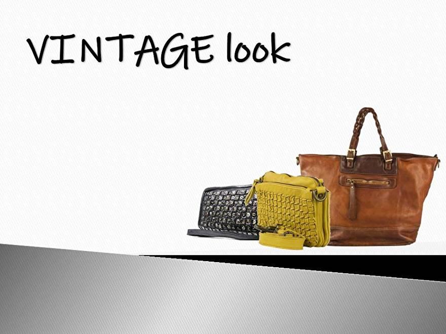 Vintage look!