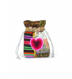 Uit eigen atelier: `The heartwarming bag mini`