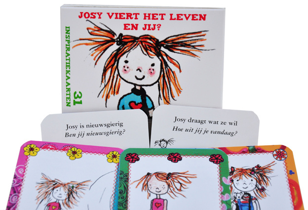 Weer binnen! Inspiratie kaarten: Josy viert het leven. En jij? (2 doosjes) (Deel 1)