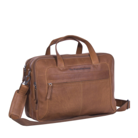 Leren Laptoptas Cognac Ryan