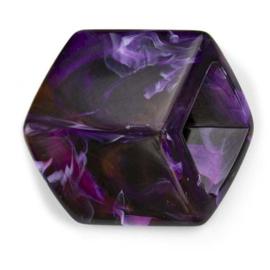 Cube Aubergine Shiny