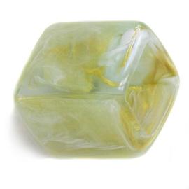 Cube Golden Leaf