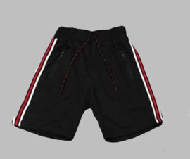 Jogg  Bermuda - Stripe black