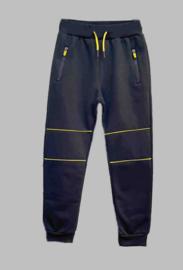 Jogg Pant - Freeboy fluor stripe navy