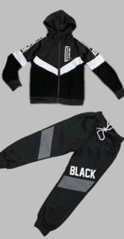 Trainingspak - BLACK2 zwart