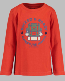 Blue Seven longsleeve - BS 850621 red