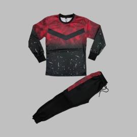 Trainingspak -  Junior City wave red