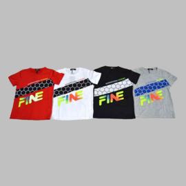 T-shirt - Fine grijs