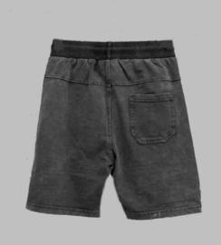 Jogg Jeans Bermuda - Freeboy black denim