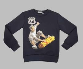 Sweater - SJK 333 navy