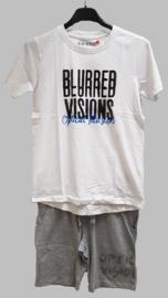 T-shirt -  Blue Seven 602675 Optical Illusion blue