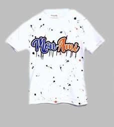 T-shirt - Moni Ami wit