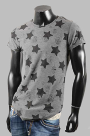 T-shirt - SJK 670 grey