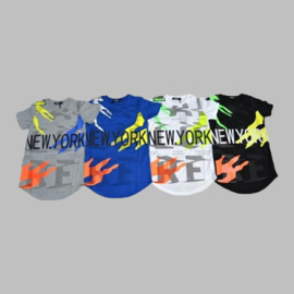 T-shirt - New York wit