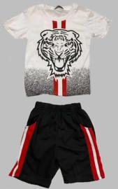 Twee delige jogg set - Tiger black
