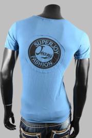 T-shirt - SJK 8801 grey