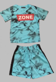 Twee delige jogg set - Zone blue