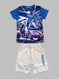 Twee delige jogg set - Hollyweek bright blue