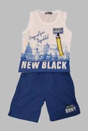 Twee delige jogg set - New Black blue
