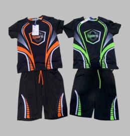 Twee delige jogg set - Sport groen