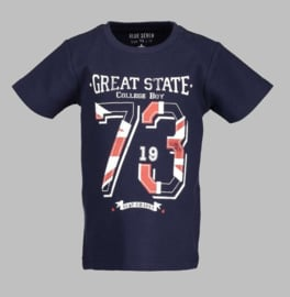T-shirt - BS 802134 navy